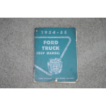 1954, 1955, Ford Truck Shop Manual