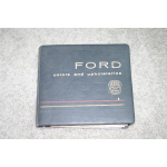 1961 Ford Color And Upholstery Book