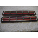 1957 Mercury Rear Bumper Reflector lens