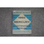 1960 Mercury Shop Manual