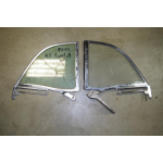 1957 1958 Ford Retractable Quarter window frames Left or Right