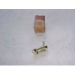 """1959 Ford Fairlane 500 Trunk Letter """"0"""" Key Hole Cover NOS"""